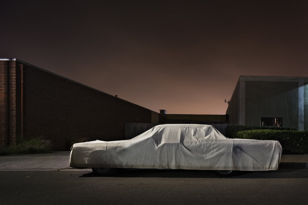Sleeping Car Beatrice Street, Los Angeles, CA 2012