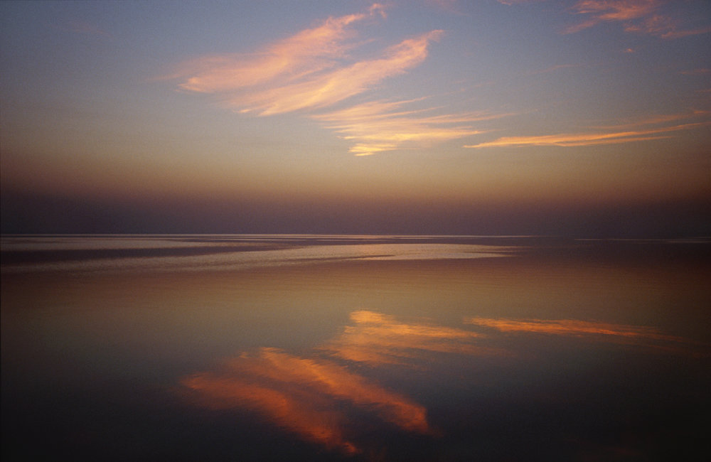 Sunset, Salton Sea, California 2004