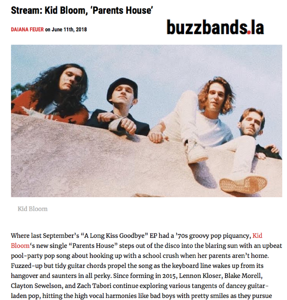 """Fuzzed-up but tidy guitar chords propel the song as the keyboard line wakes up from its hangover and saunters in all perky"" -"