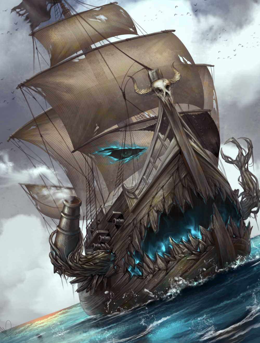 Captain Boat, Eternal Pirate