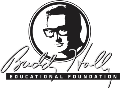 The Buddy Holly Educational Foundation Logo