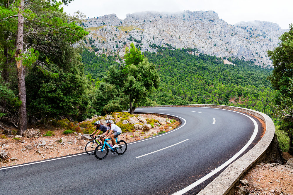 enjoy the best cycling in europe - Spain offers beautiful roads, varied landscapes, stunning views and little or no traffic. Our local knowledge and detailed planning gives you access to cycling that you'll find hard to beat.