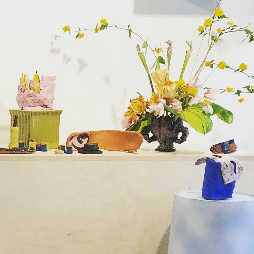 Flower District - May 31 — June 28Danika VandersteenAmanda KopasLeah Schulliin collaboration with Carmel Floral