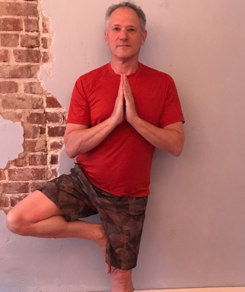 - Joe has been practicing yoga for over 7 years. His favorite style is hot power flow but has grown to appreciate and understand the importance of including yin as part of his practice. He started practicing yoga as a low impact form of exercise but stayed with the practice for the improved mind/body benefits it brought to his life off the mat. Joe's goal as a teacher is to help make yoga accessible for people of all ages and abilities and eagerly.When not practicing you can find Joe spending time with his family (especially his grand-kids!)-200RYT
