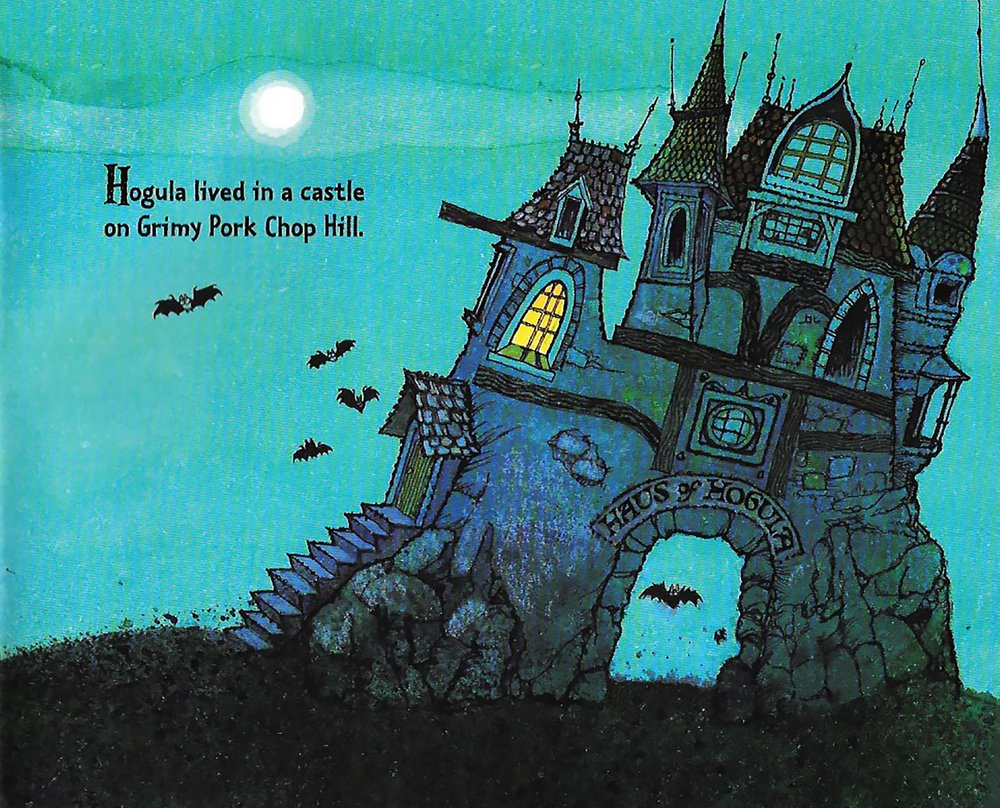 Spooky House From Hogula, Dread Pig of Night
