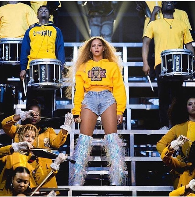 We love #QueenBey🐝  I really wish I went to an #HBCU I bet everyone in that audience wished that also 😩 #ShopScripteez #Beychella #Coachella2018 #Beyonce #BlackCulture #Legacy #Movement