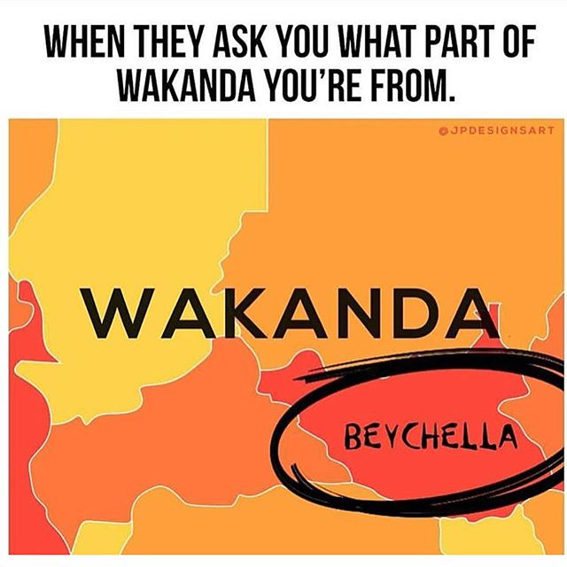 #SwipeLeft . . . 🔥🔥🔥🔥🔥🔥🔥🔥Where we from #BeyChella located in #Wakanda 🖤 . . . #WakandaTribe #Beyonce #Coachella #StyleMovement #Fashions #StatementPieces #Unisex #Tshirts #SupportBlackBusiness #ShopScripteez #NationwideFreeShipping