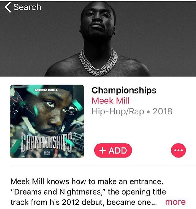Nothing like a new @meekmill album to keep you going 🔥🔥🔥 . . We have been processing orders and updating products all night. . . ☕️ & 🎼 is keep us going. . What's on your playlist today? . #Playlist #MusicPorn #FindYourTribe #Championships #NewMusicAlert #LoveCultureAmbitionStyleNLegacy #FreedomOfExpression #FreedomOfStyle #ShopScripteez #LifeStyleMovement #BlackExcellence