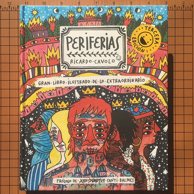 "Thinking today (and all the time) about folks at the ""periphery,"" and how we can intentionally see the lived experiences that aren't dominant in our classrooms, stories and neighborhoods. ""Periferias"" by @ricardocavolo is a gorgeous illustration of these lives (and places, artists and non-human living things) that sit at the margins. Here's a call to take a closer look, today and all the days. (Take a peek at some of the other titles in our library - link in profile.) #periferias"