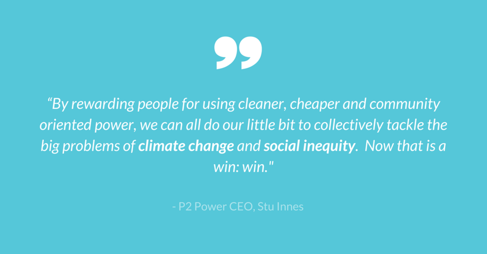 """""""By rewarding people for using cleaner, cheaper and community oriented power we can all do our little bit to collectively tackle the big problems of climate change and social inequity. Now that is a win_ win_ (1).png"""