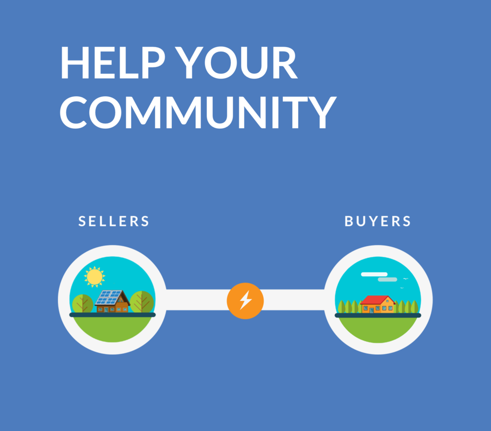 Community matters. P2 gives you access to solar energy produced in your neighbourhood. -