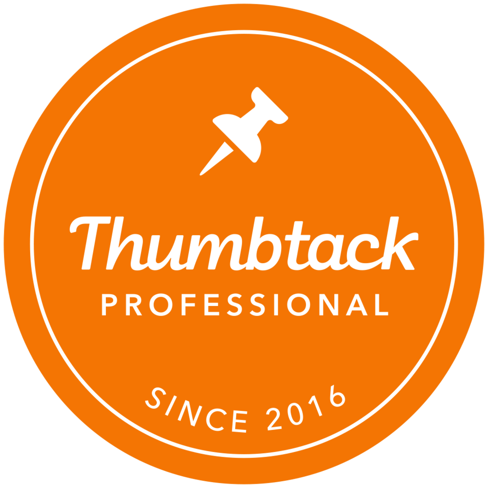Read my reviews on Thumbtack -