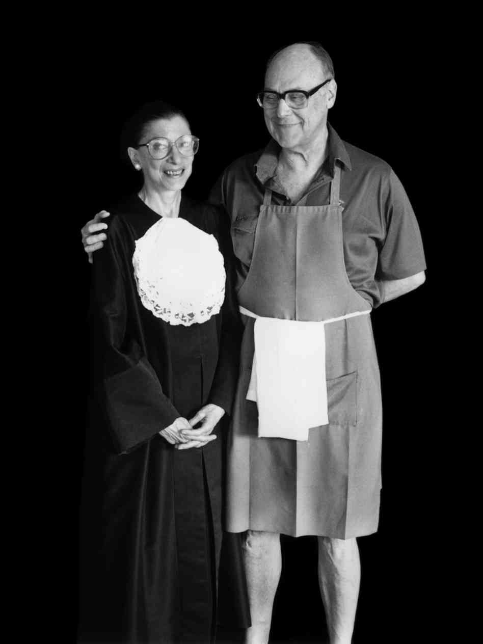 Ruth and Marty, from  Ruth Blogger Ginsburg