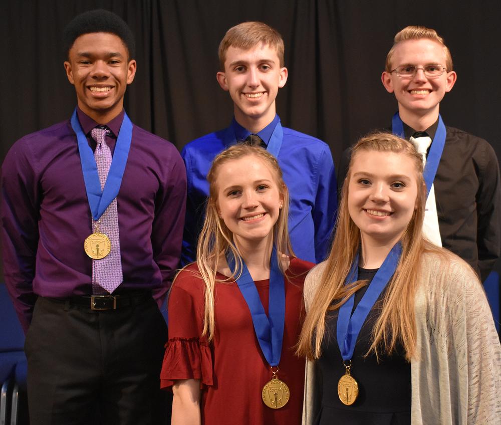 National Honor Society group 2017-18