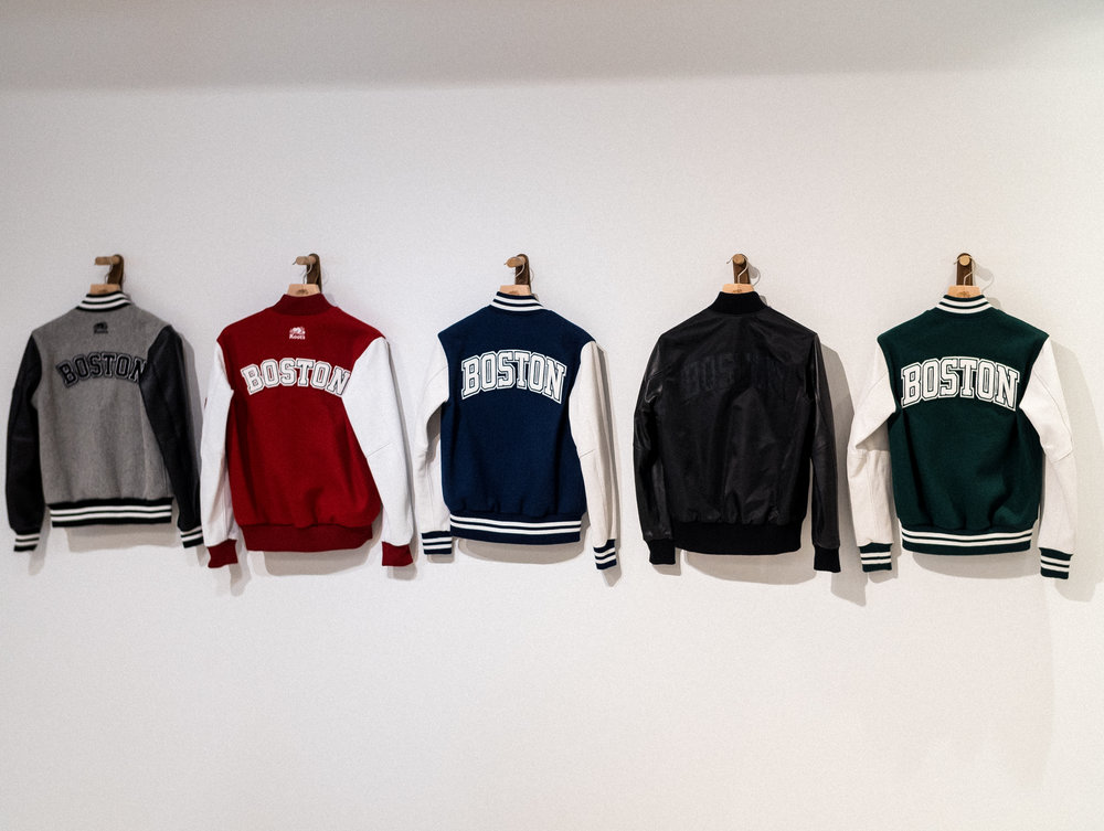 Customized Awards Jackets at Roots Legends on Newbury.