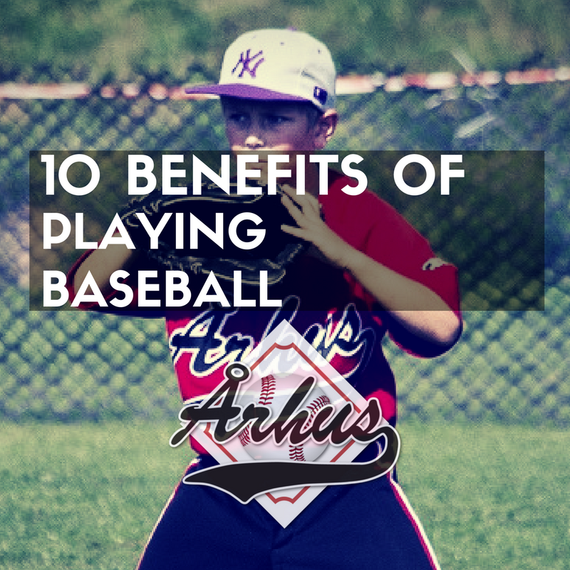 10 benefits of playing baseball