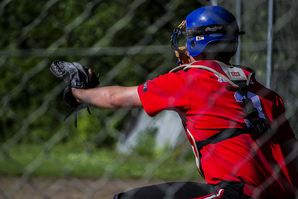 Baseball Kamp på Åbrinkvej 11