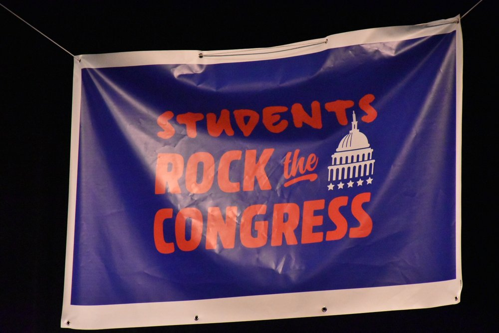 Students Rock the Congress banner.JPG