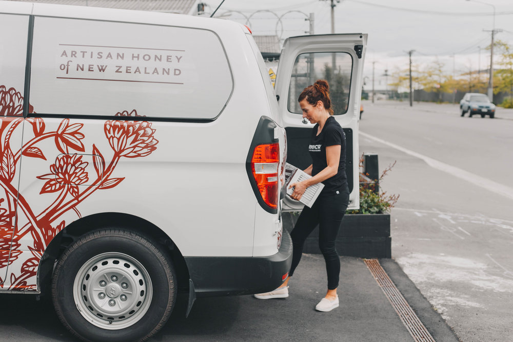 J.Friend and Co delivery van