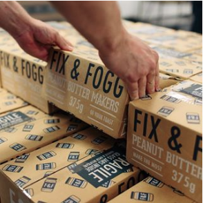 Fix and Fogg packaging