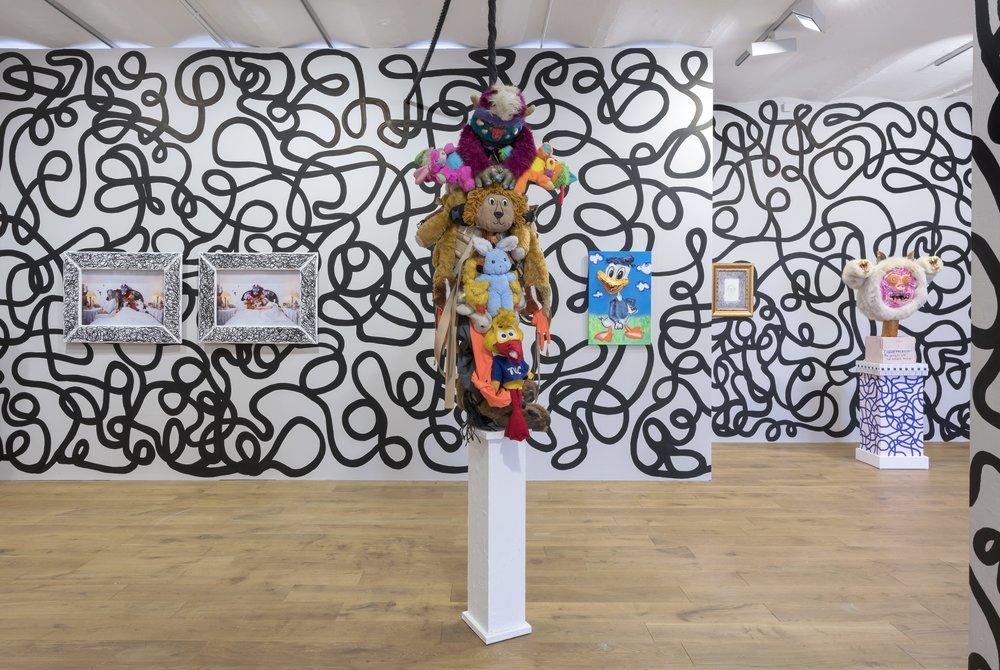 James Ostrer, Finding Me Through You, 2019, Installation Shot #3.jpg