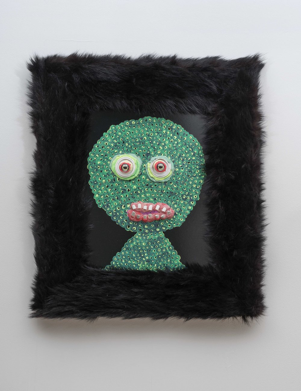 Emotional Dinosaur 3, 75 x 63 x 10 cm, 2018.