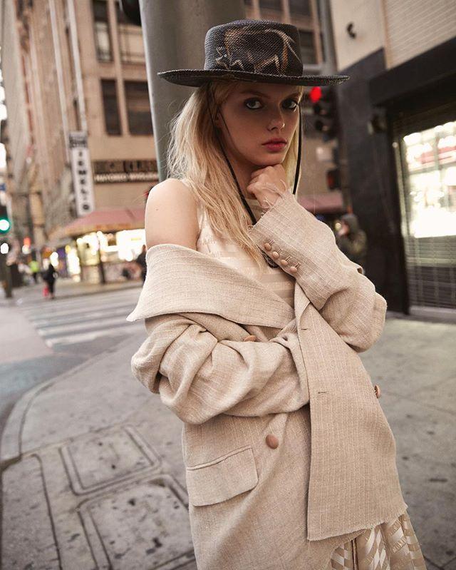 Downtown L.A. • A new fashion story for @blancmagazine w/ the talented @caitlin_taffs_creative • Styling @mtstylist Hair @annalylesstyle MUA @dianedasilvamakeup Model @helenedesmettre_ @photogenicsla