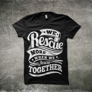Rescue Pink Tee
