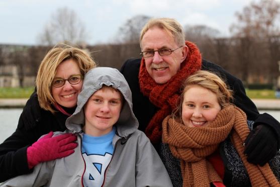 Tony and his family.