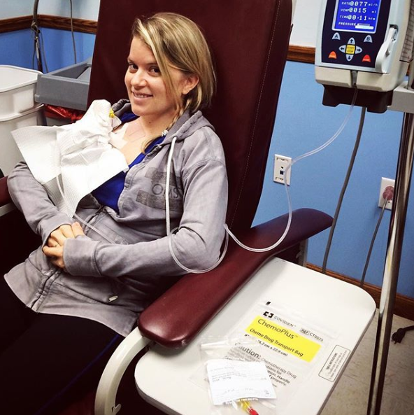 December 10, 2015. First chemo infusion.