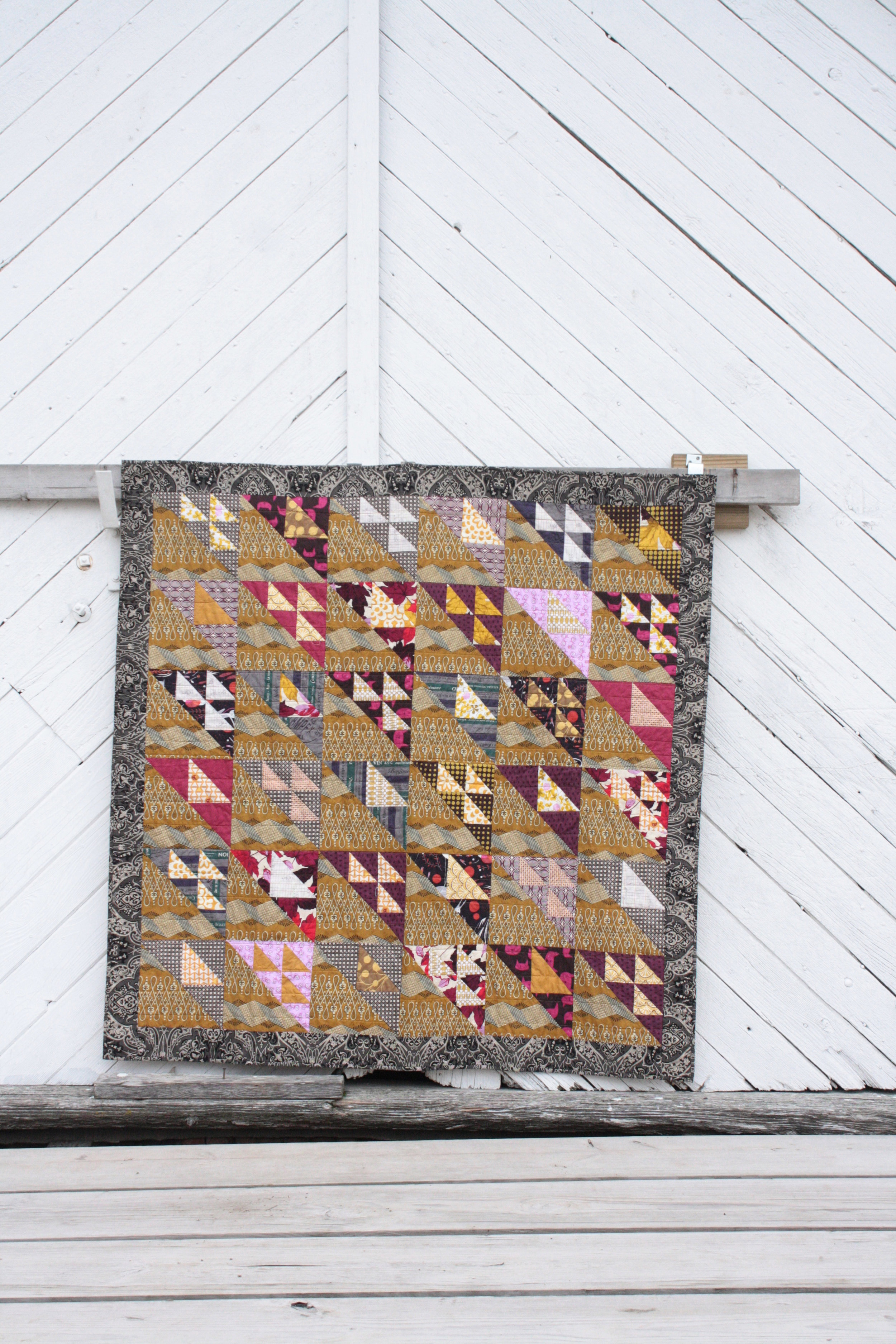 golden geese quilt