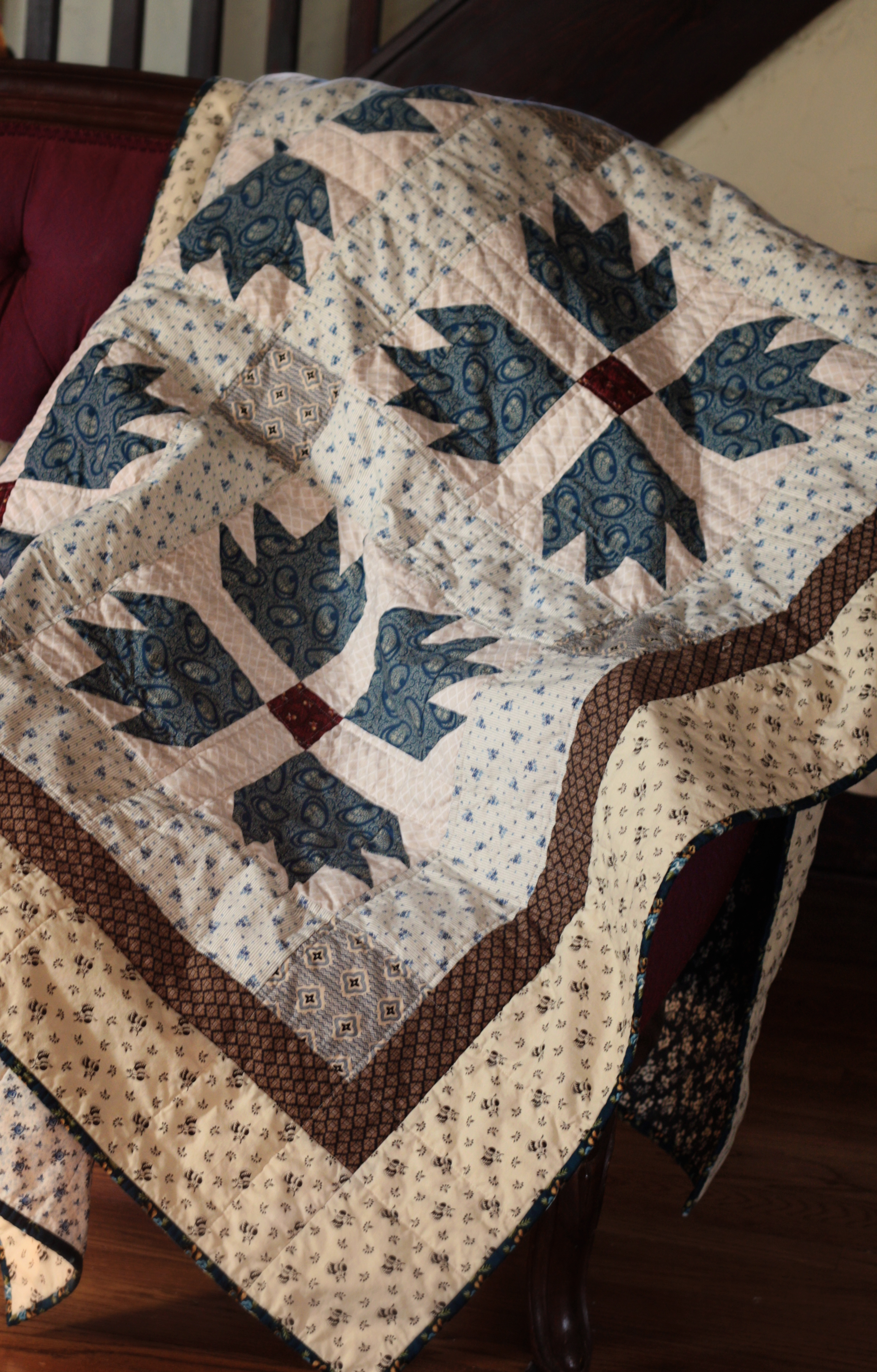 12-12 bear paw quilt