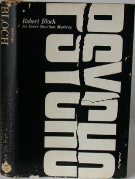 First edition cover Author:  Robert Bloch