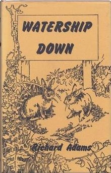 First edition cover Author:  Richard Adams
