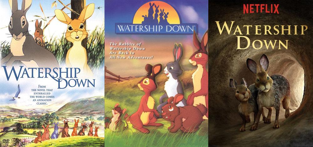 Left: 1960 Poster; CENTER: 1999 Poster; right: 2018 Poster