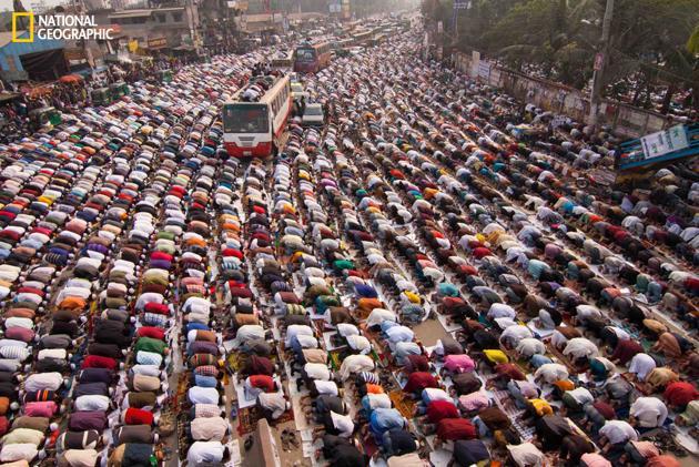 People at Prayer by Junaid Ahmed