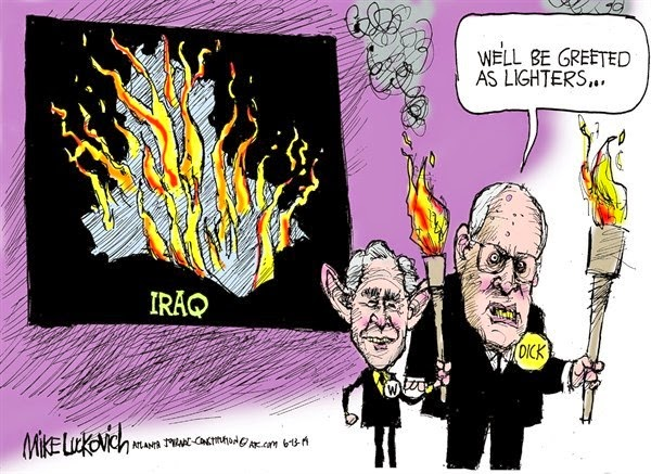 MikeLuckovich-Cheney war criminal