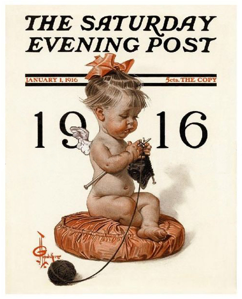 J.C. Leyendecker-new-year-1916