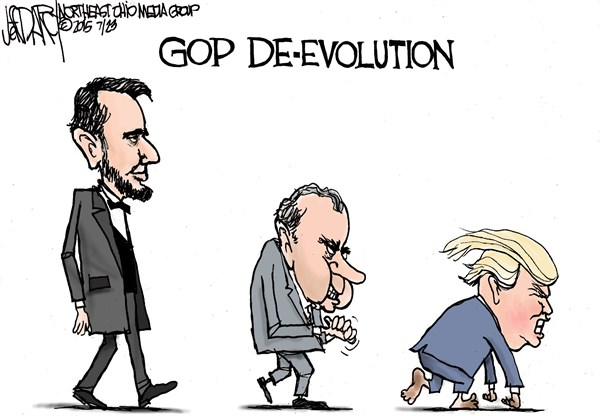 GOP - De-evolution