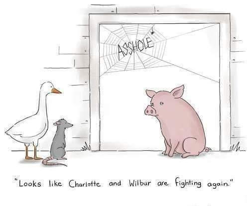 Charlotte and Wilbur