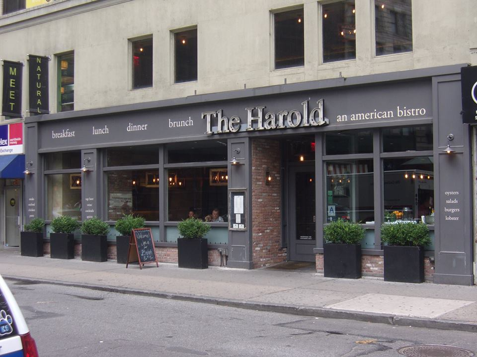 Photo of The Harold where we ate breakfast, taken by David Barr.