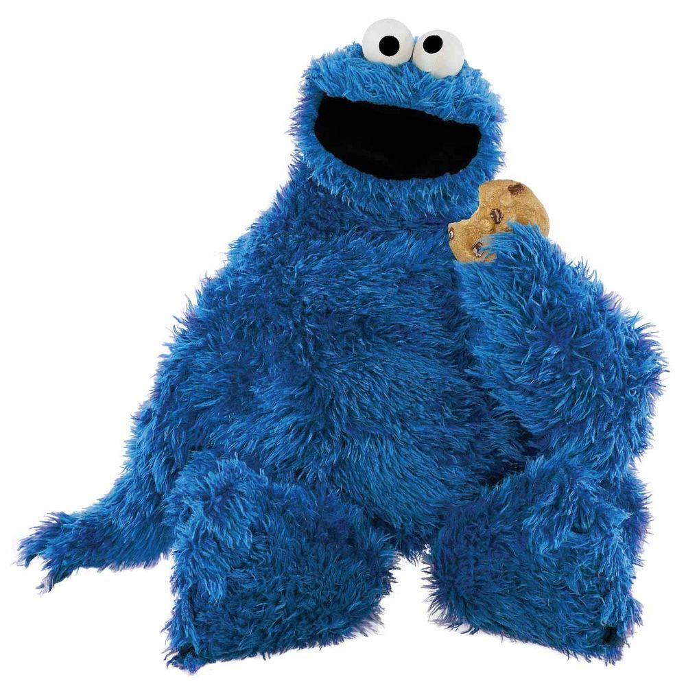 Is that Gemma inside the Cookie Monster outfit?