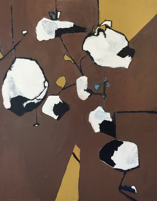 77 Velour , 2018, 24x18, oil on canvas