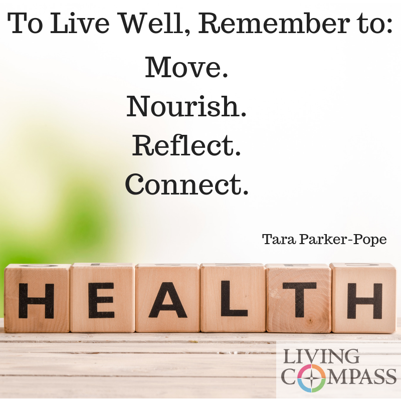 Living Well, in Just Four Words