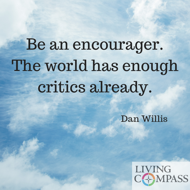 Be an Encourager