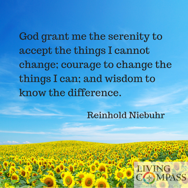 Serenity and Forgiveness