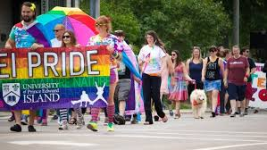 Charlottetown's Pride Parade is held the last week of July.