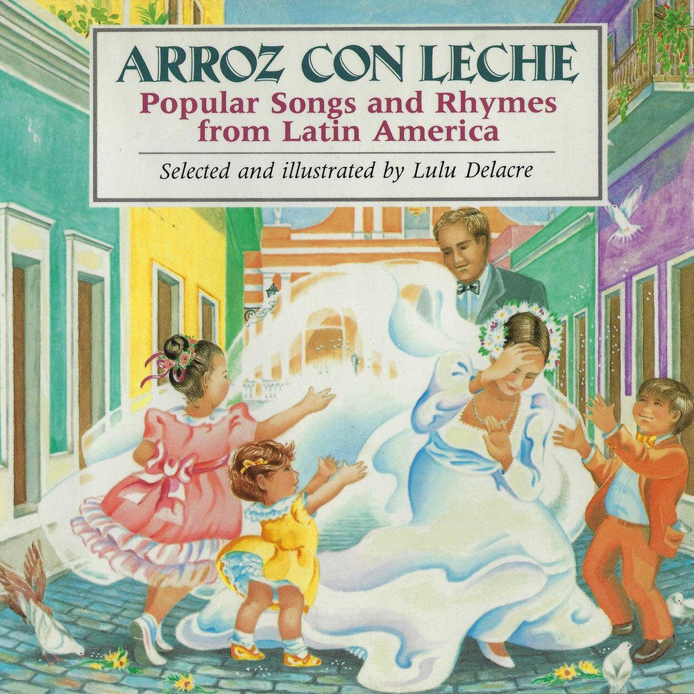 arroz con leche childrens book