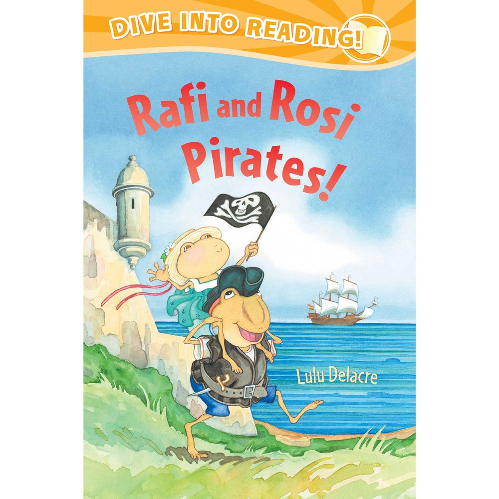 rafi y rosie pirates childrens book by lulu delacre