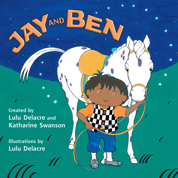 Jay and Ben childrens book by lulu delacre illustration